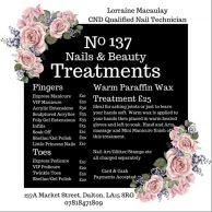No 137 Nails & Beauty, Dalton