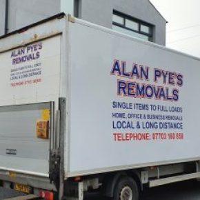 Alan Pye's Removals, Barrow