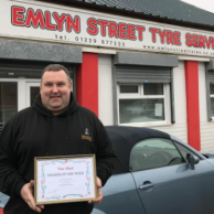 Emlyn Street Tyre Services*, Barrow