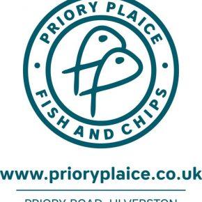 Priory Plaice Fish & Chips*, Ulverston
